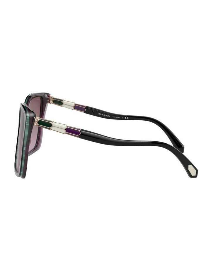 Black/Purple Butterfly Sunglasses 0BV8229BF 1534527001 image 4