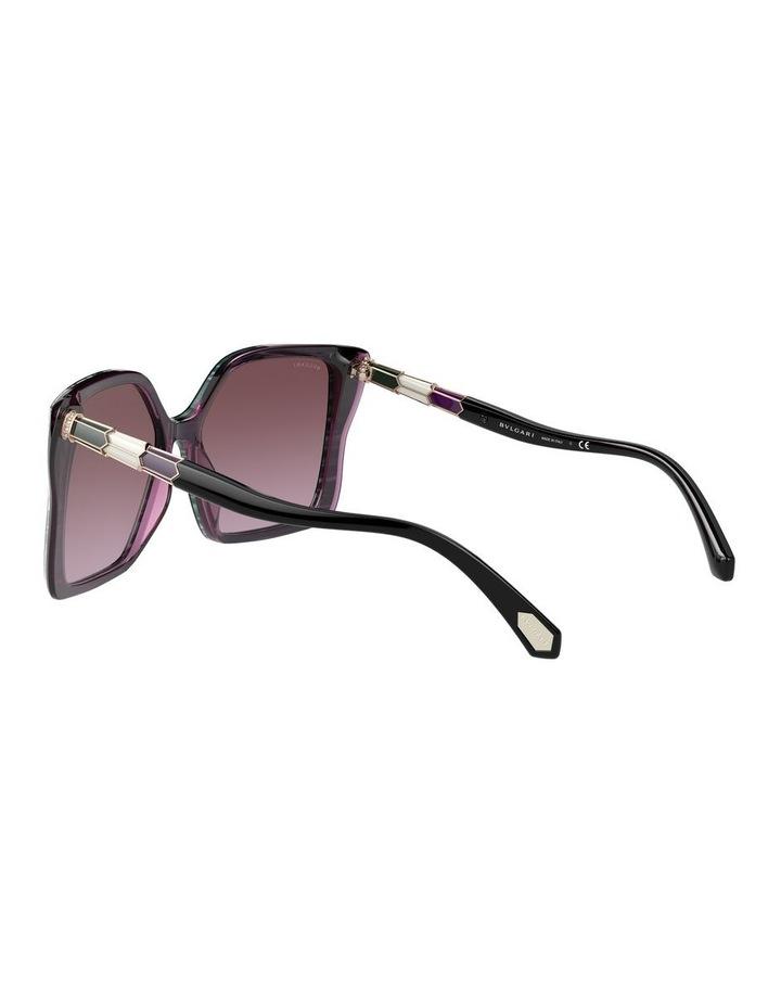 Black/Purple Butterfly Sunglasses 0BV8229BF 1534527001 image 5