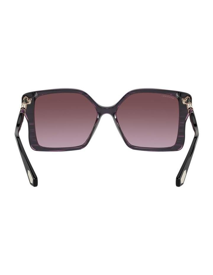Black/Purple Butterfly Sunglasses 0BV8229BF 1534527001 image 7