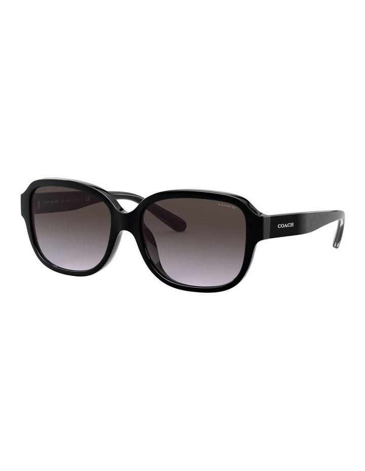 Black Rectangle Sunglasses 0HC8298U 1532199001 image 1