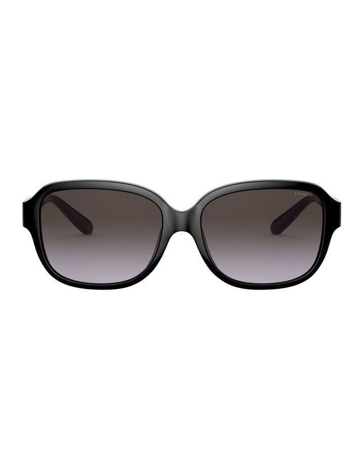 Black Rectangle Sunglasses 0HC8298U 1532199001 image 2