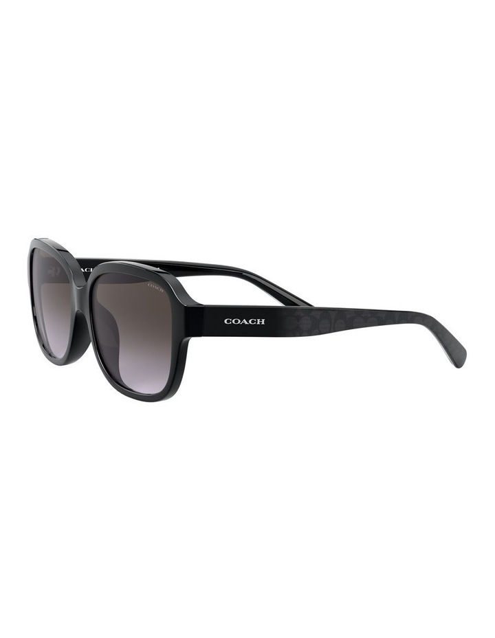 Black Rectangle Sunglasses 0HC8298U 1532199001 image 3