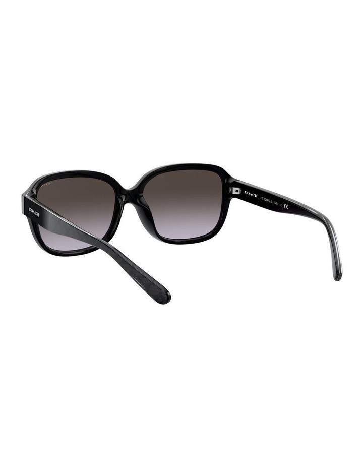 Black Rectangle Sunglasses 0HC8298U 1532199001 image 6