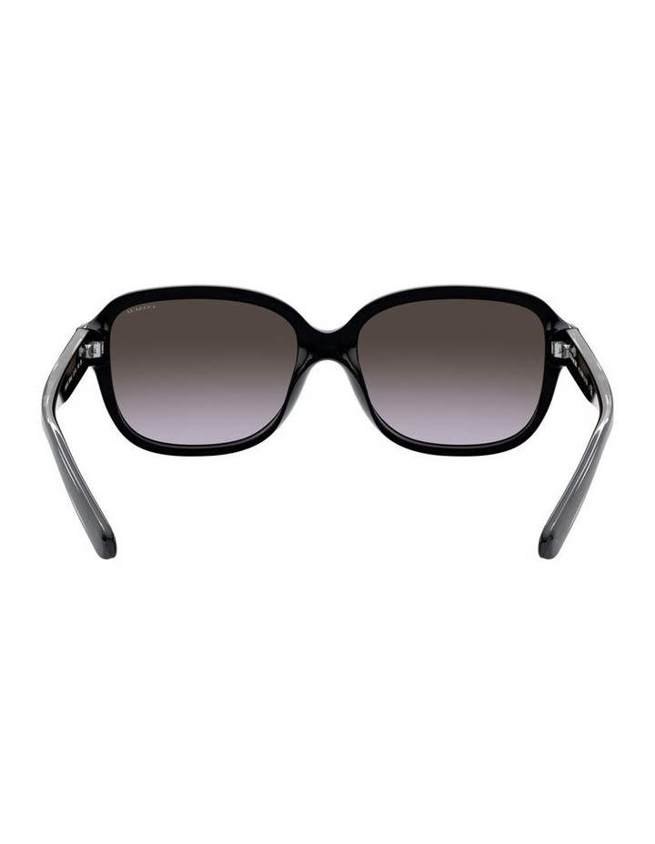 Black Rectangle Sunglasses 0HC8298U 1532199001 image 7