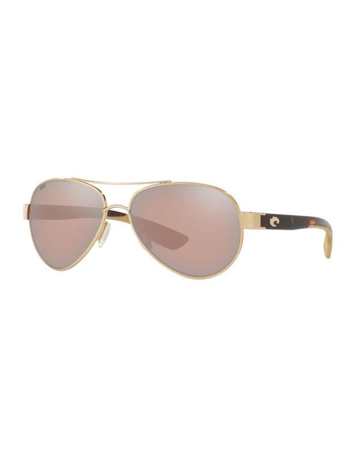 Polarised Gold/Pink Aviator Sunglasses 06S4006 1520770004 image 1