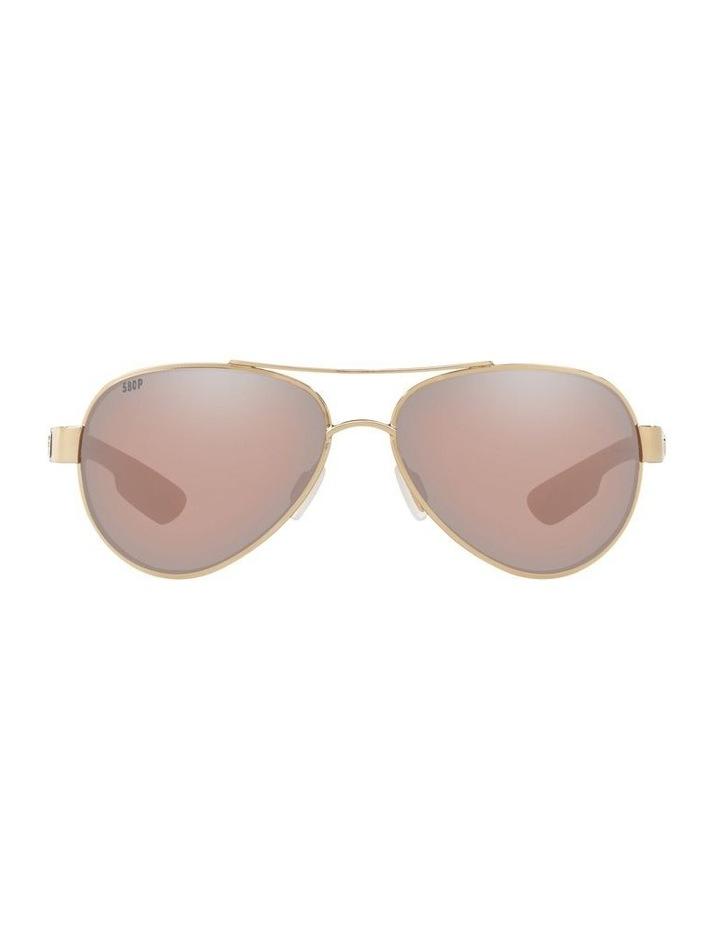 Polarised Gold/Pink Aviator Sunglasses 06S4006 1520770004 image 2