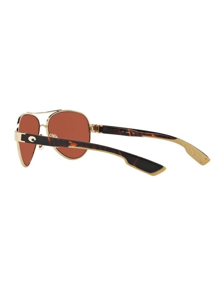 Polarised Gold/Pink Aviator Sunglasses 06S4006 1520770004 image 5