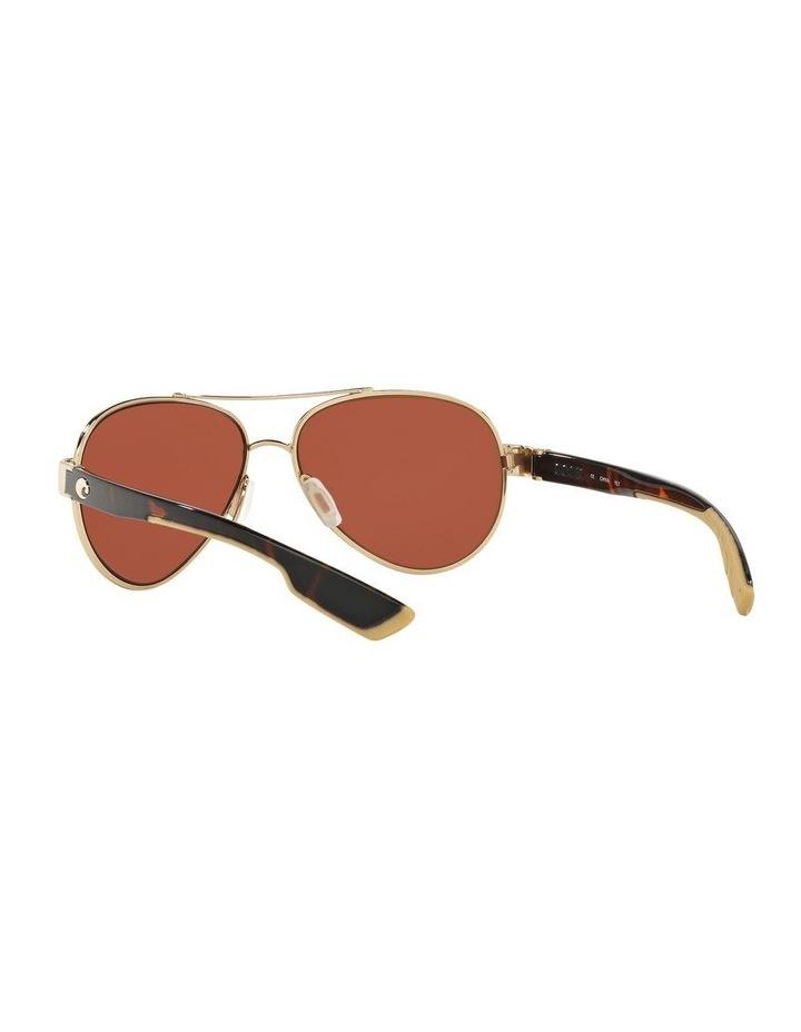 Polarised Gold/Pink Aviator Sunglasses 06S4006 1520770004 image 6