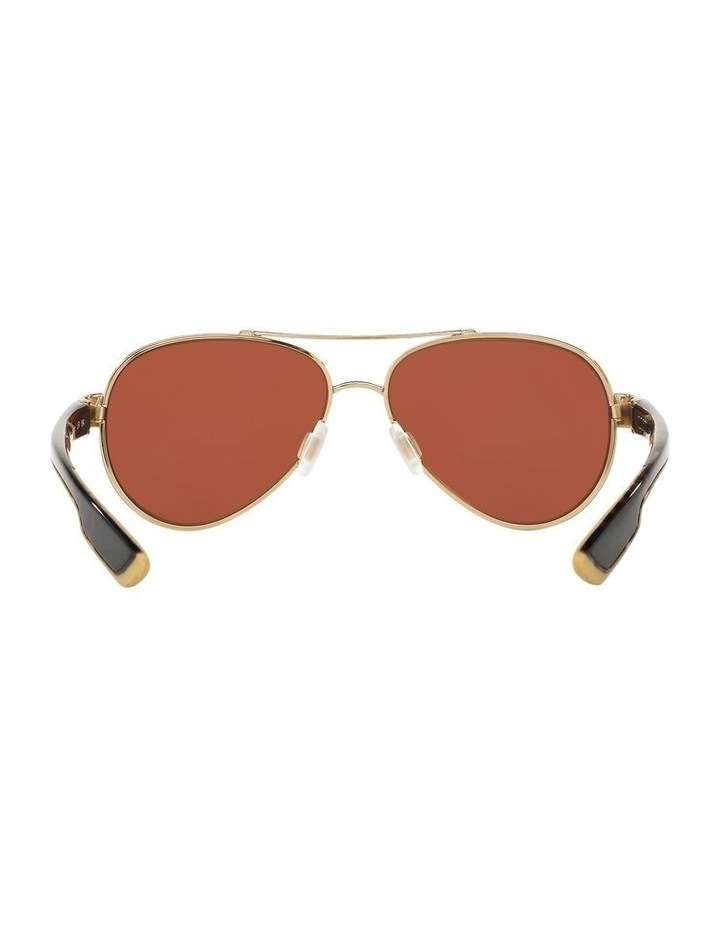 Polarised Gold/Pink Aviator Sunglasses 06S4006 1520770004 image 7