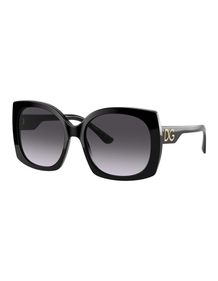 Black Square Sunglasses 0DG4385 1534323003 image 1