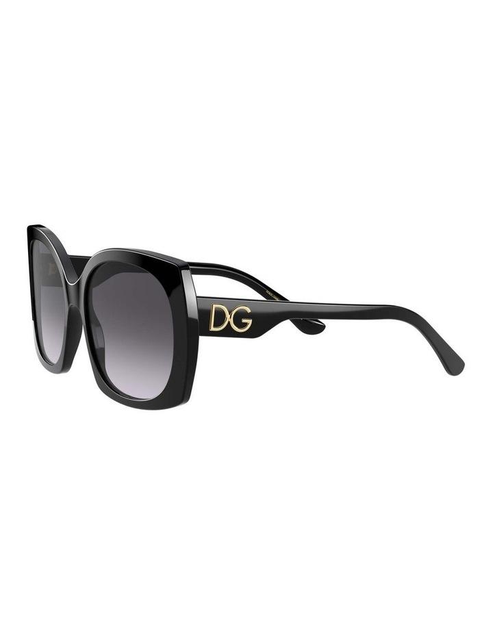Black Square Sunglasses 0DG4385 1534323003 image 3