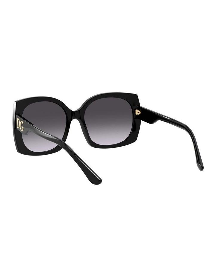 Black Square Sunglasses 0DG4385 1534323003 image 6