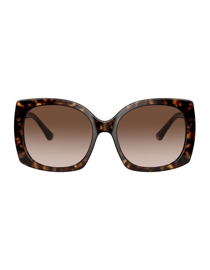 Tortoise Square Sunglasses 0DG4385 1534323004 image 2