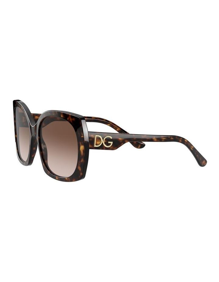 Tortoise Square Sunglasses 0DG4385 1534323004 image 3