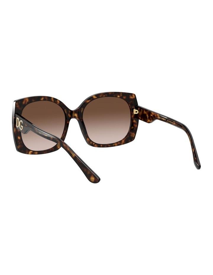Tortoise Square Sunglasses 0DG4385 1534323004 image 6