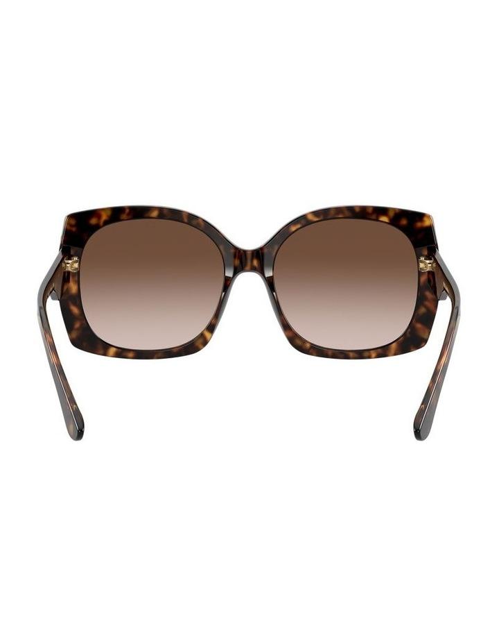 Tortoise Square Sunglasses 0DG4385 1534323004 image 7