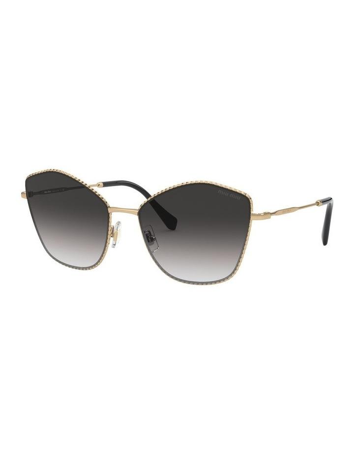 Gold/Grey Cat Eye Sunglasses 0MU 60VS 1531917001 image 1