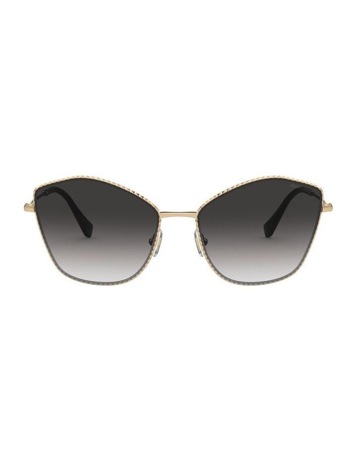 Gold/Grey Cat Eye Sunglasses 0MU 60VS 1531917001 image 2