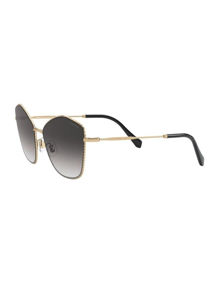 Gold/Grey Cat Eye Sunglasses 0MU 60VS 1531917001 image 3