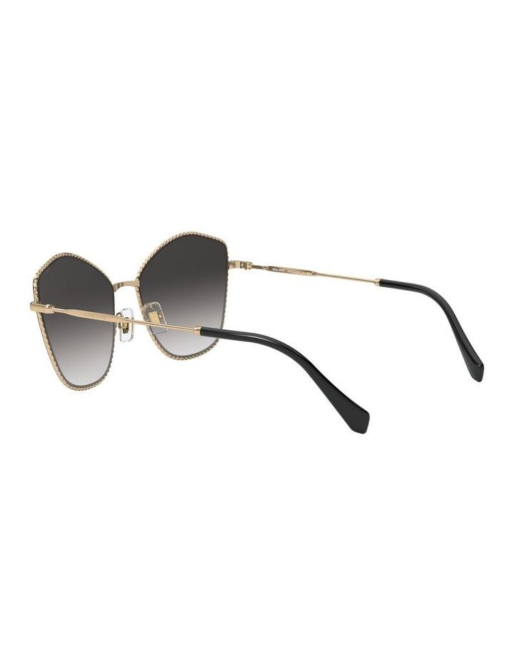 Gold/Grey Cat Eye Sunglasses 0MU 60VS 1531917001 image 5