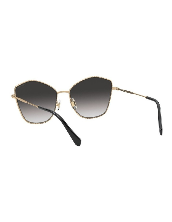 Gold/Grey Cat Eye Sunglasses 0MU 60VS 1531917001 image 6
