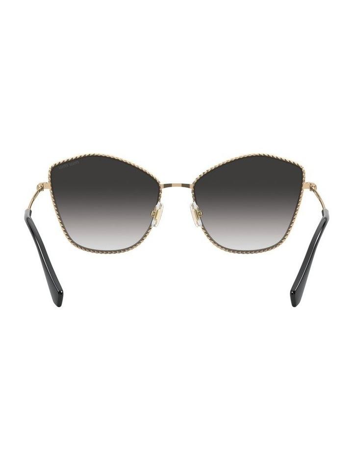 Gold/Grey Cat Eye Sunglasses 0MU 60VS 1531917001 image 7