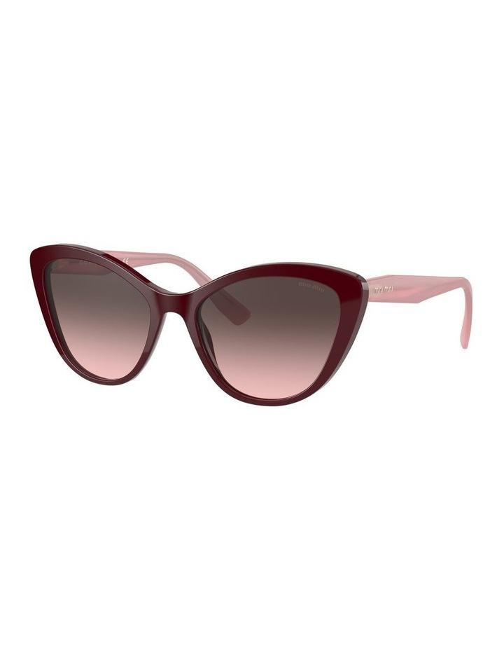 Red Cat Eye Sunglasses 0MU 05XS 1534420002 image 1