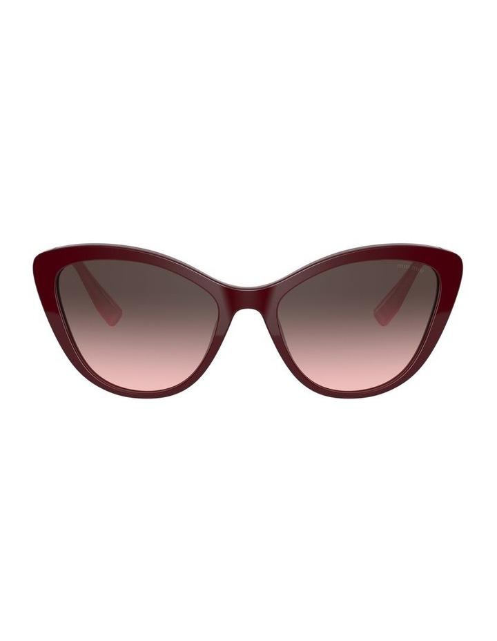 Red Cat Eye Sunglasses 0MU 05XS 1534420002 image 2