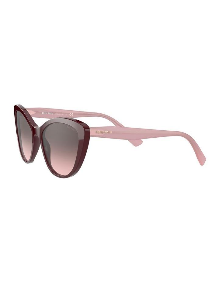 Red Cat Eye Sunglasses 0MU 05XS 1534420002 image 3
