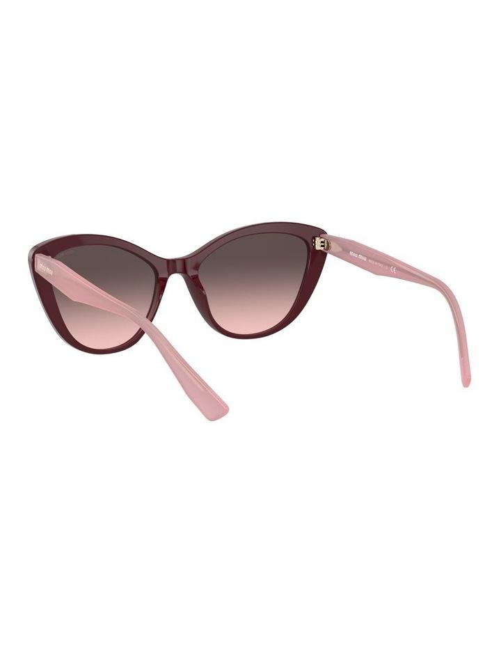Red Cat Eye Sunglasses 0MU 05XS 1534420002 image 6