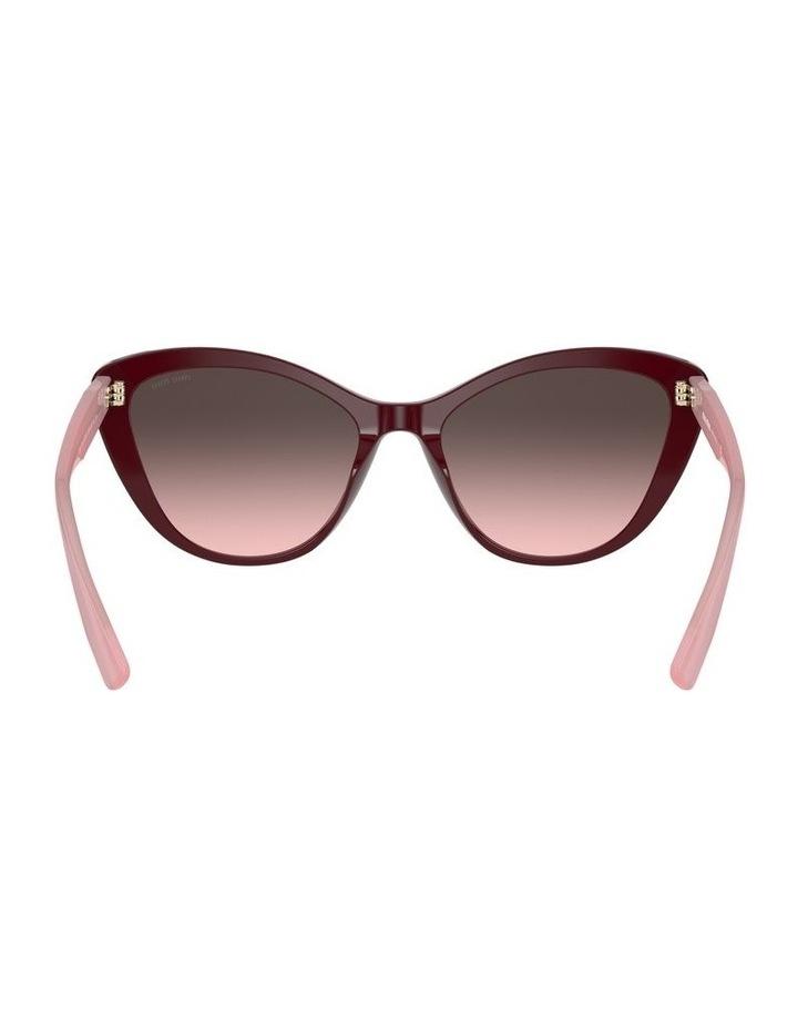 Red Cat Eye Sunglasses 0MU 05XS 1534420002 image 7