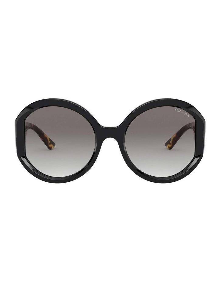 Black/Tortoise Round Sunglasses 0PR 22XS 1532209001 image 2