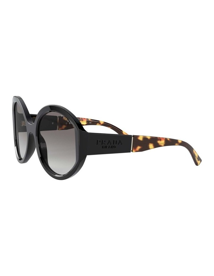 Black/Tortoise Round Sunglasses 0PR 22XS 1532209001 image 3