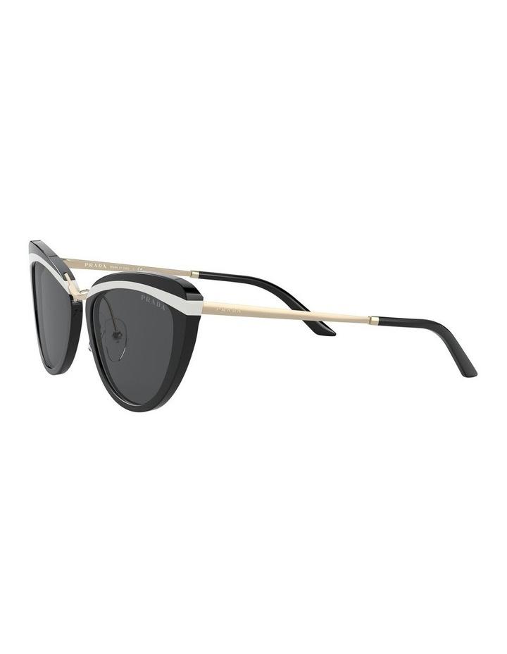 Black Cat Eye Sunglasses 0PR 25XS 1532211001 image 3