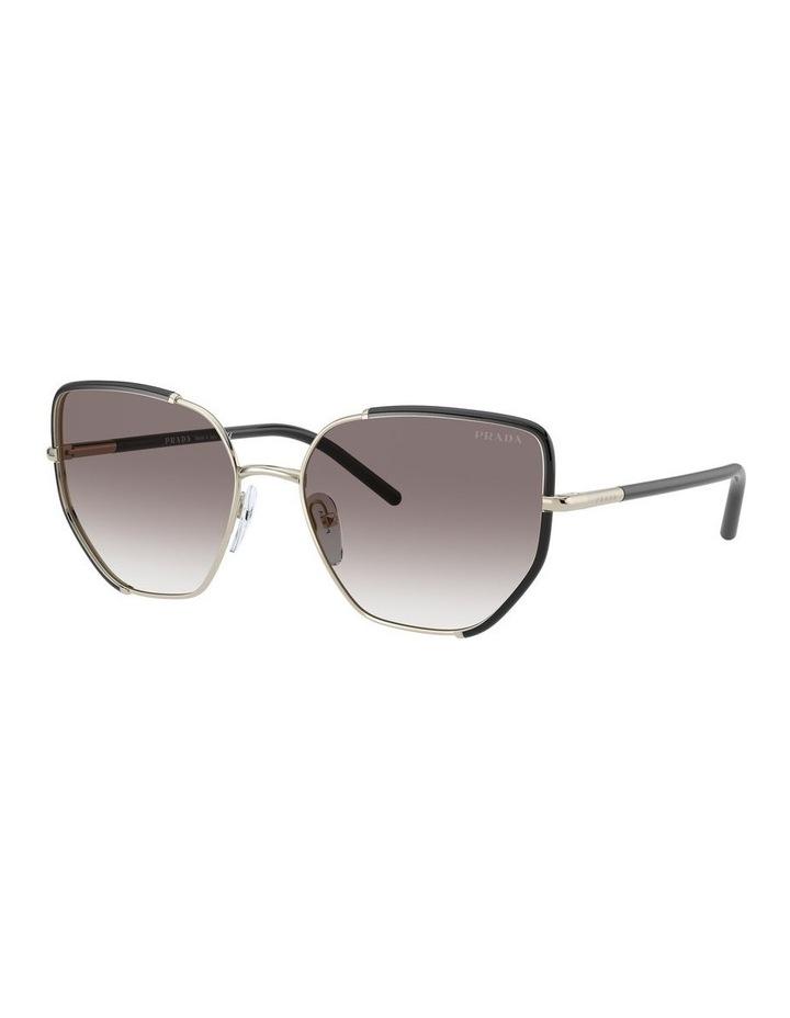 Silver Cat Eye Sunglasses 0PR 50WS 1533992002 image 1