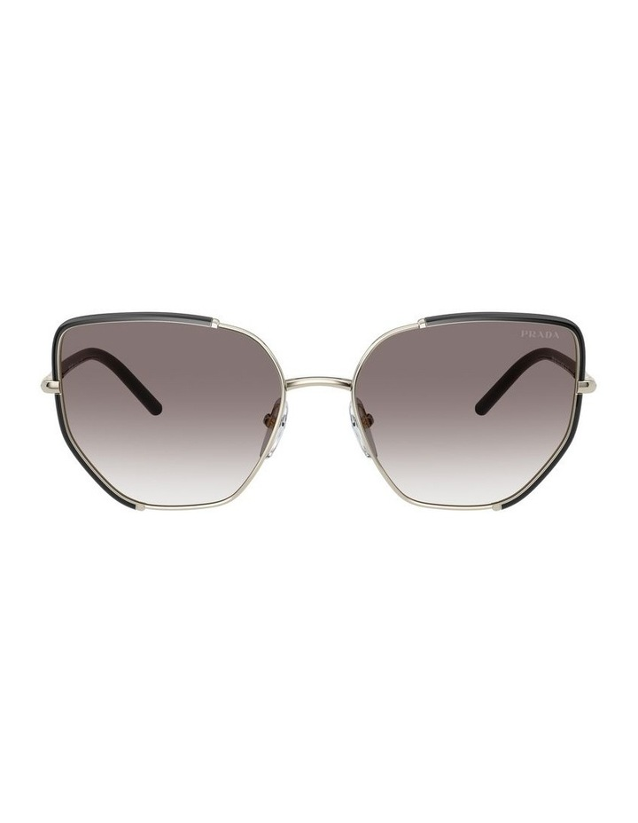 Silver Cat Eye Sunglasses 0PR 50WS 1533992002 image 2