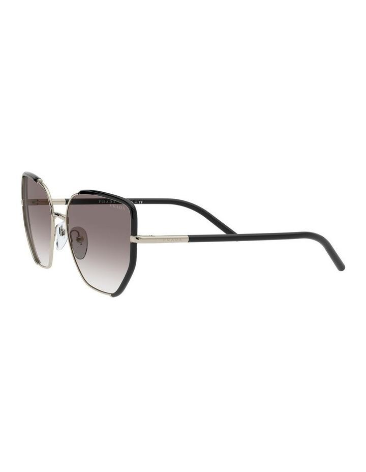 Silver Cat Eye Sunglasses 0PR 50WS 1533992002 image 3