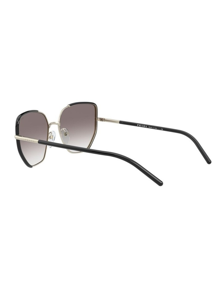 Silver Cat Eye Sunglasses 0PR 50WS 1533992002 image 5