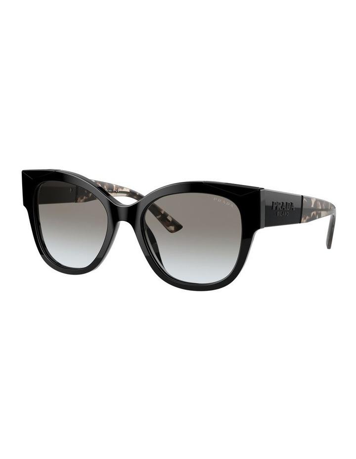Black Rectangle Sunglasses 0PR 02WS 1533995003 image 1