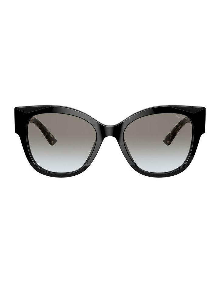 Black Rectangle Sunglasses 0PR 02WS 1533995003 image 2