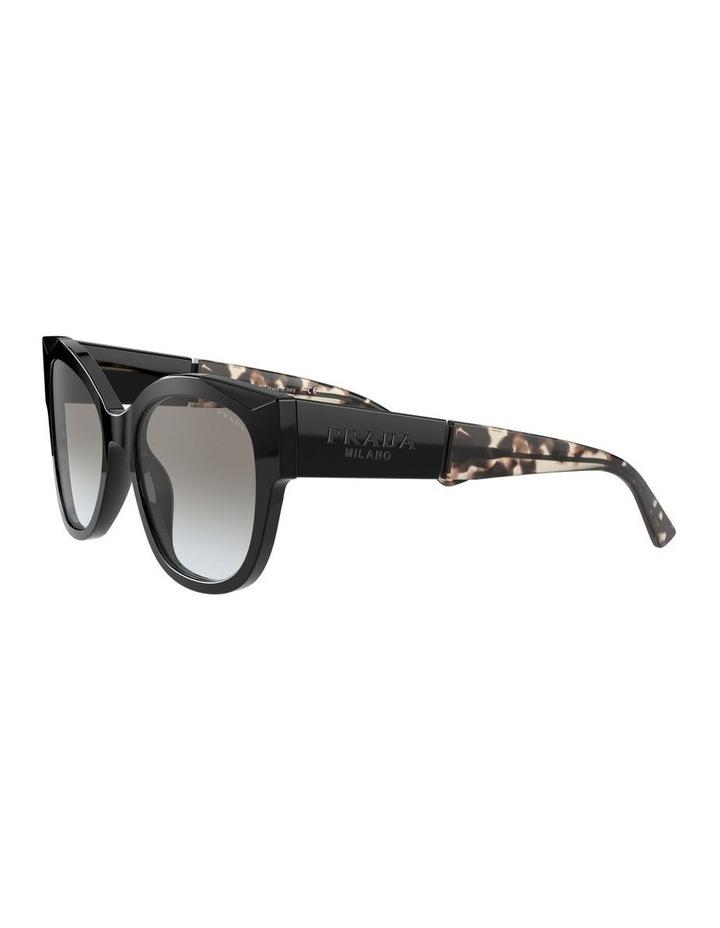 Black Rectangle Sunglasses 0PR 02WS 1533995003 image 3