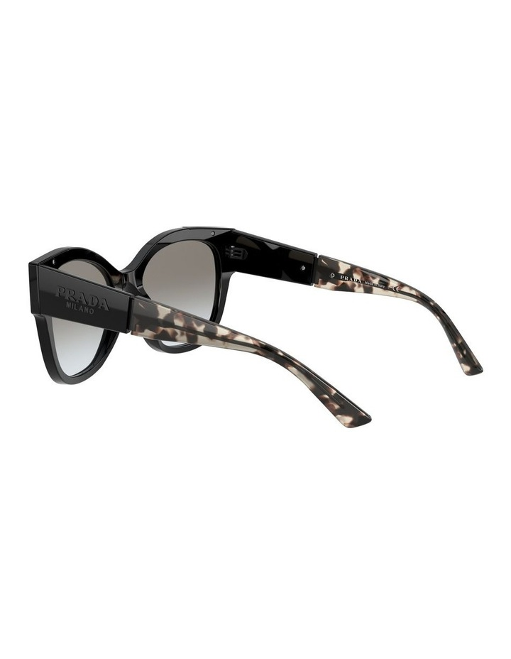 Black Rectangle Sunglasses 0PR 02WS 1533995003 image 5