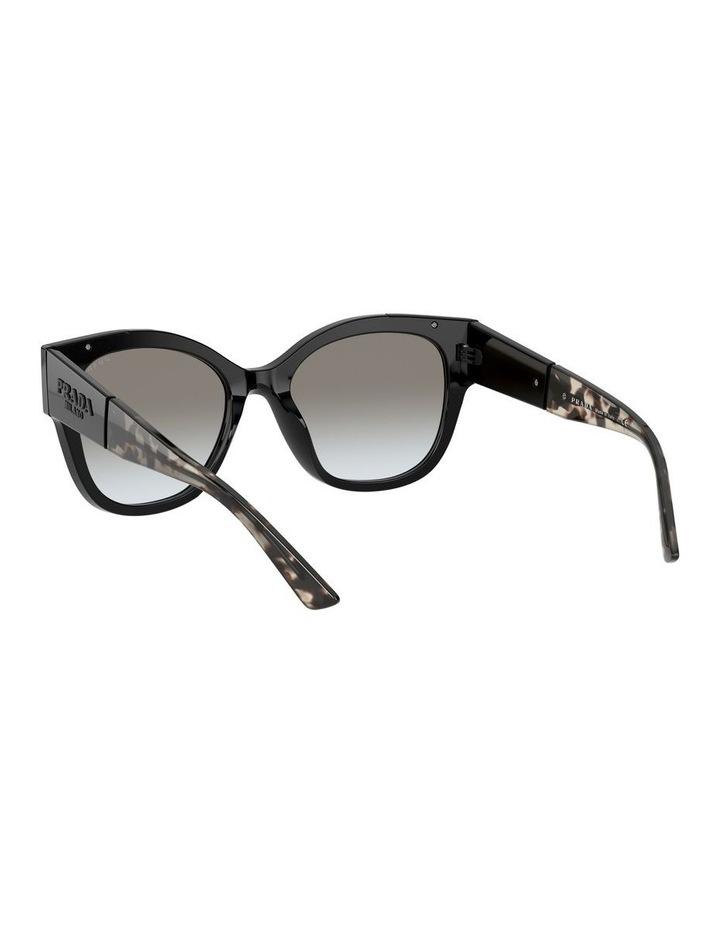 Black Rectangle Sunglasses 0PR 02WS 1533995003 image 6