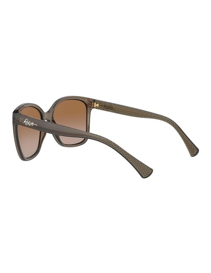 Beige Square Sunglasses 0RA5268 1532237002 image 5