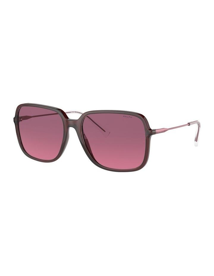 Opaline Burgundy/Pink Square Sunglasses 0RA5272 1533953002 image 1