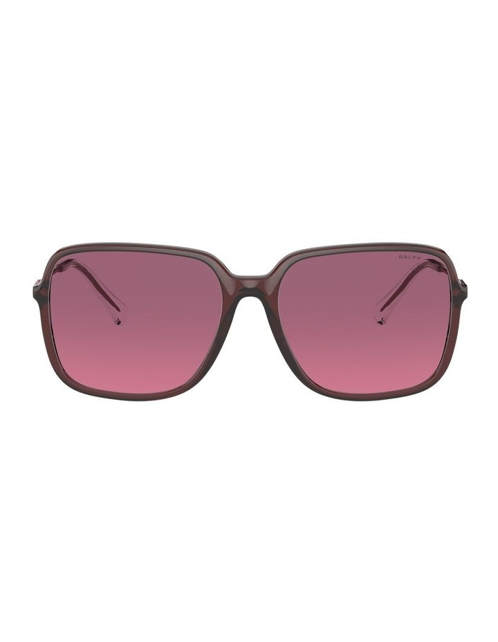 Opaline Burgundy/Pink Square Sunglasses 0RA5272 1533953002 image 2