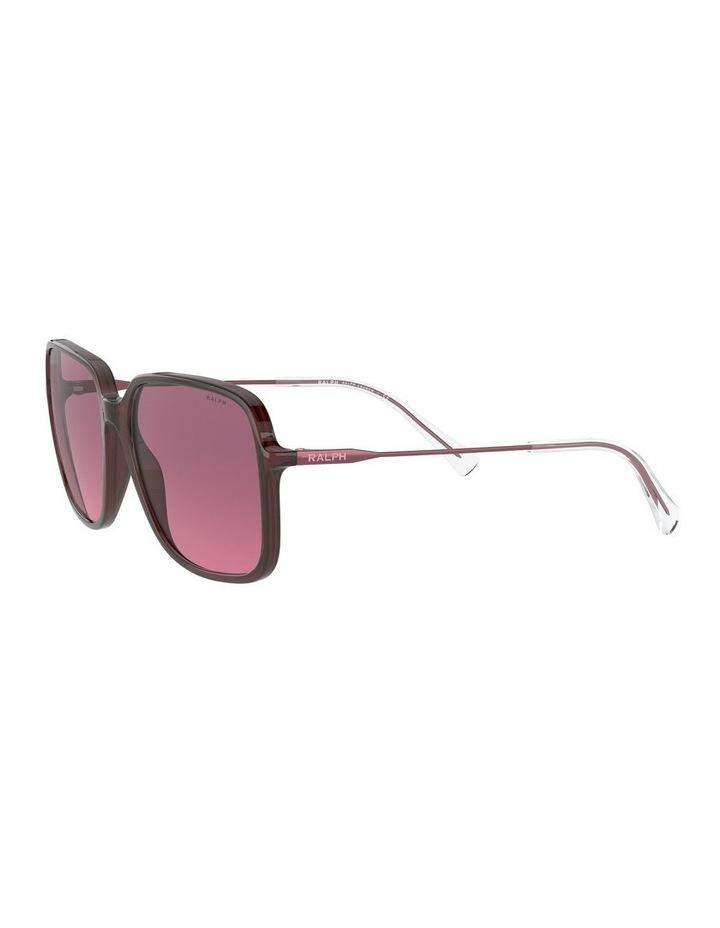 Opaline Burgundy/Pink Square Sunglasses 0RA5272 1533953002 image 3