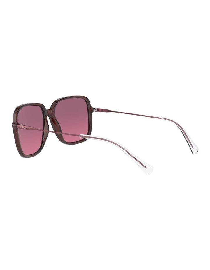 Opaline Burgundy/Pink Square Sunglasses 0RA5272 1533953002 image 5
