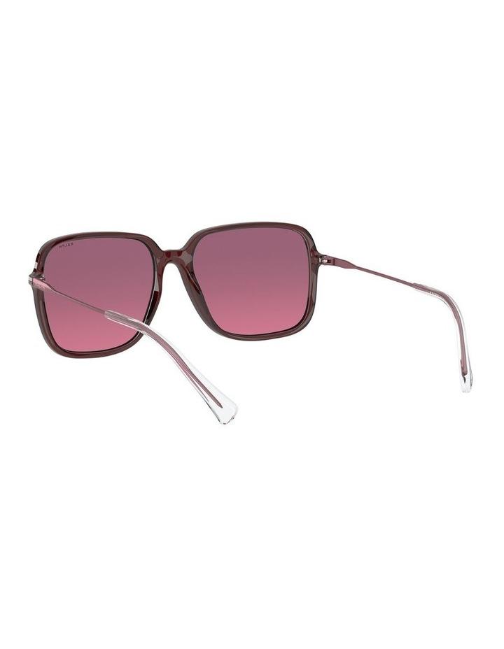 Opaline Burgundy/Pink Square Sunglasses 0RA5272 1533953002 image 6