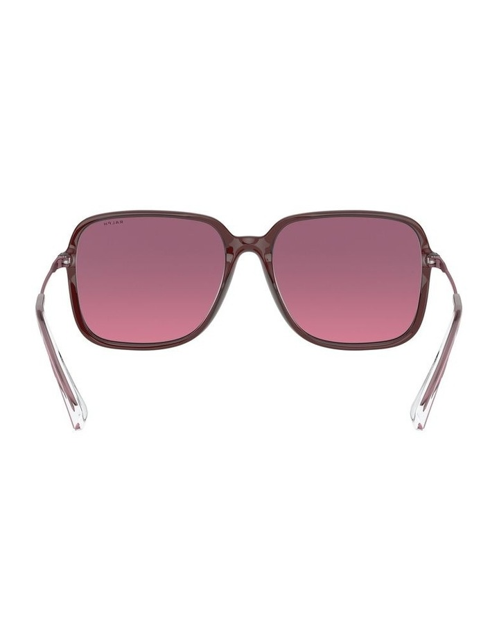 Opaline Burgundy/Pink Square Sunglasses 0RA5272 1533953002 image 7